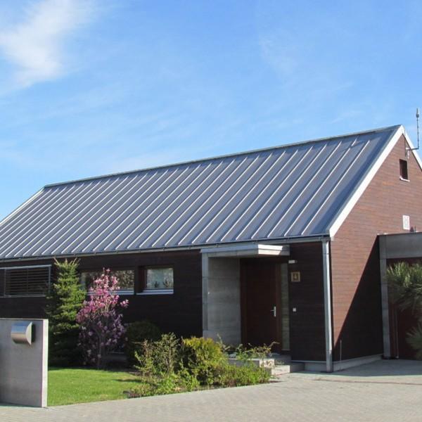 Dachplatten DP-510 0,5 mm - 13,40 Euro/m2 Dachbleche Profilbleche Dachpaneele mit Stehfalz